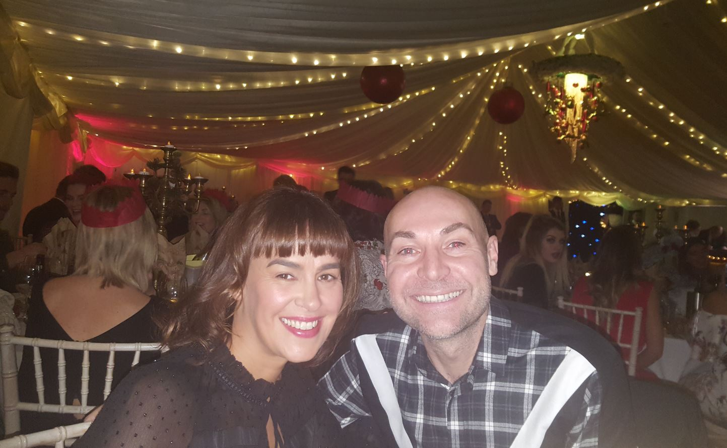 Philip Barker (Sales Director) with Vicky Barker (his wife)